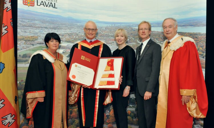 CG VanKoughnett at the University of Laval.