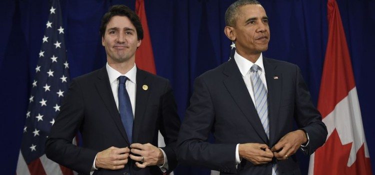 President Obama and Prime Minister Justin Trudeau