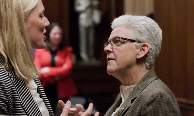 EPA Administrator McCarthy meets with Canadian Environment and Climate Change Minister Catherine McKenna. (Credit EPA)