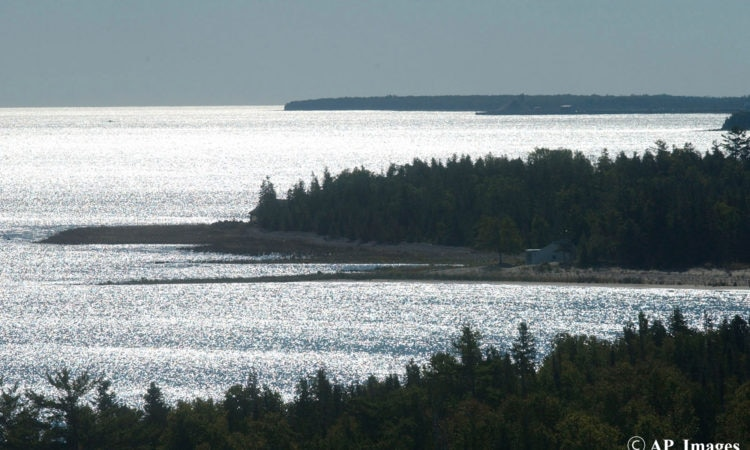 Lake Huron, Mich., is seen in this September 2004 photo. (AP Photo/John L. Russell)