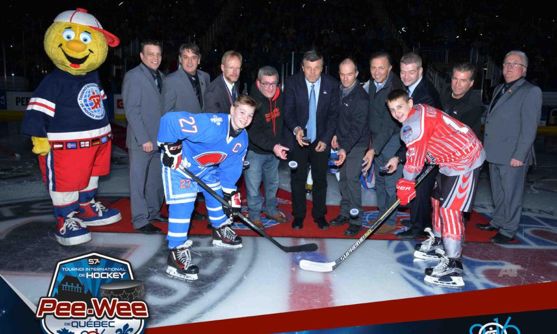 Quebec pee wee hockey