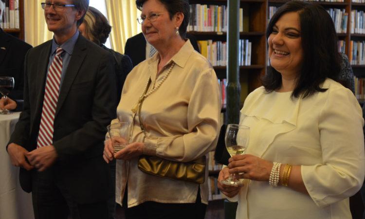Réception en l'honneur de la présidente sortante de la SLHQ