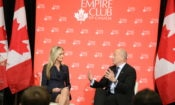 Ambassador Heyman speaking at the Empire Club of Canada (Credit US Consulate Toronto)