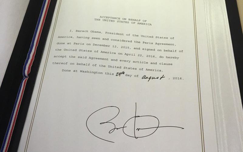 President Obama On The Paris Agreement U S Embassy