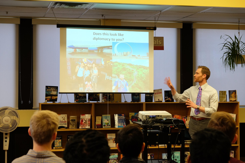 Consulate toronto speaker bureau visits area schools u s embassy consulates in canada - Canadian speakers bureau ...