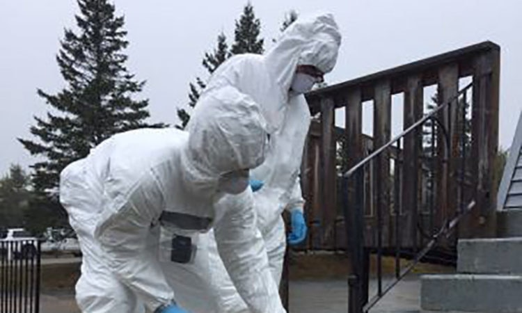 U.S. and Canada Hold First Joint Nuclear Forensics Exercise. Credit Department of Homeland Security.