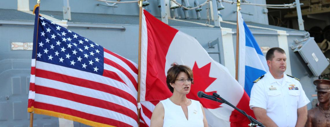 Des Navires Américains à Québec pour le Rendez-Vous Naval 2017