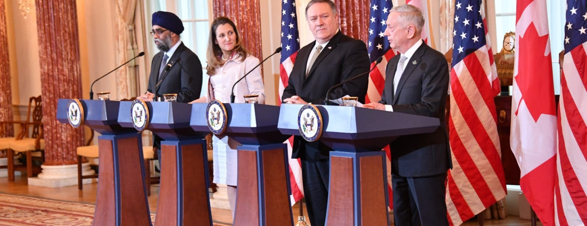 Press Availability at the U.S. – Canada 2+2 Ministerial