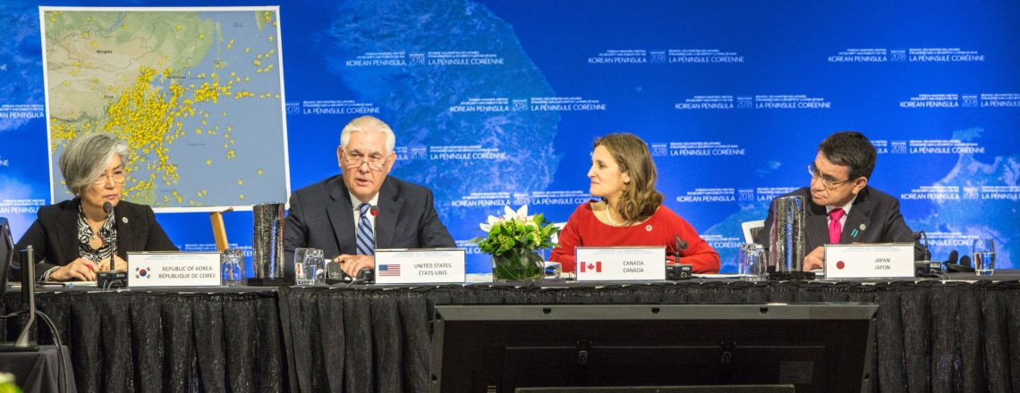 Opening Remarks by Secretary Tillerson At the Vancouver Foreign Ministers' Meeting